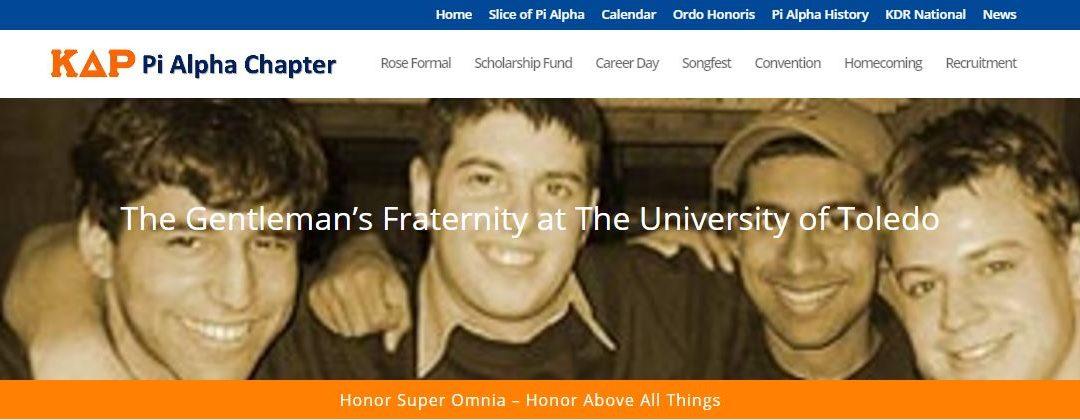 New Pi Alpha Website